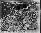 מחנה אושוויץ מלמעלה