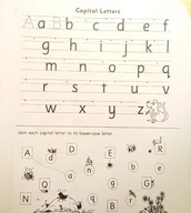 Capital Letters page
