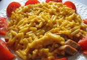 Los macarrones con queso (8.880) ocho mil ochocientos ochenta Pesos