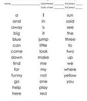 Be a super speller!  Study your sight words!