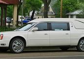 The Classic White Hearse...