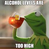 Alcohol levels