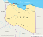 Libya's oil money is used most on what?