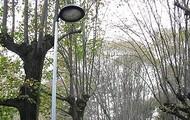 Luminarias LED para parques, jardines, o públicas.
