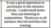 "Active engagement in ""doing math"" builds understanding"