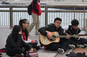 We sang - again