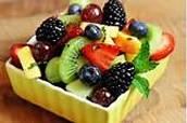 Fruits for dessert in Madagascar
