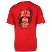 Rojo la camiseta