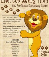 Lion Cub Story Time!