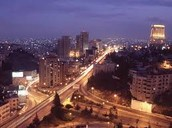 Jordan at Night
