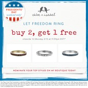 RING in President's Day...