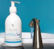 ALOE HAND AND FACE SOAP