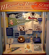 Milwaukee Braves 50th Anniversary Artifacts
