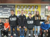 Geography Bee 7th Grade Finalists