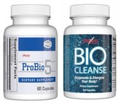 Doing a Cleanse Using ProBio5 and BioCleanse: Go Slowly!