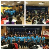Thanks Burnet MS fine arts kids for performing for our Pillow 5th graders!
