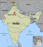 The Map of India