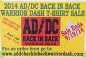 Warrior Dash T-Shirt Sale