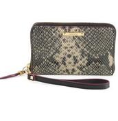 Chelsea Tech Wallet - Snake Skin RRP £75. Sale £45