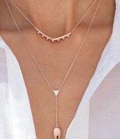 N2 Tiered Lariat Necklace