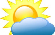 Thursday: Partly Cloudy