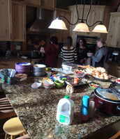 Thanksgiving at my cousins grandparents