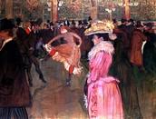 """""""Moulin Rouge-La Goulue"""""""