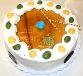 Tarta San Marcos nata 8,50€