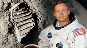 Neil Armstrong  and his first step on the moon