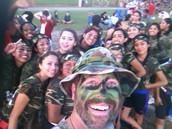 """Equipo """"Selfie"""" de estudiantes del tercer año"""