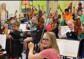 Second period Green Orchestra - 6th grade!