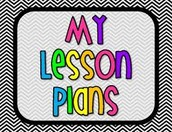 Lesson Plans - Push to My Planner