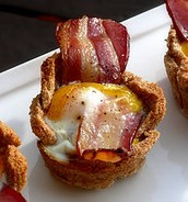 Our bacon and eggs bowls