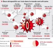 Statistiques sur l'évolution du virus dans le monde