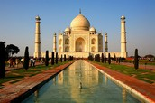 THE INCREDIBLE TAJ MAHAL BUILDING STILL STANDS TODAY AND ATTRACTS MANY TOURISTS
