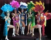 Five Samba Dnacers