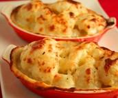The dinner: Cauliflower Cheese £10.50