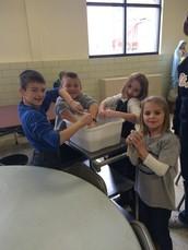 1st Grade Service Spotlight!