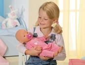 No me gustaba jugar con las muñecas porque yo era el niño.