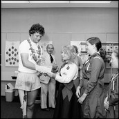 Terry Fox arriving to Scarbrough