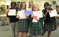7th Grade Battle of the Books Champions