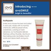 avaSmile toothpaste