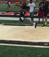 Amadi Bolden  - what a jump!