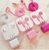 chargers & earphones