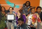 Baldwin's Life Class has the Highest PTSA Donations!
