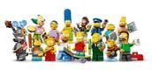 Lego mini figures: The Simpsons