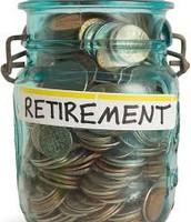 Retirement money.