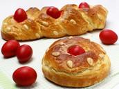 Traditional Easter Greek Bread