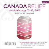 Have JAMAZING nails while supporting Canada