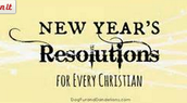 New Year's Resolutions for Christian Teens